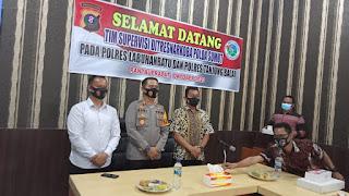 AKBP Deni Kurniawan SiK MH  Terima Tim Supervisi Dit Narkoba Polda Sumut