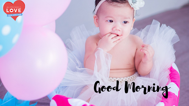Beautiful Baby Good Morning Images