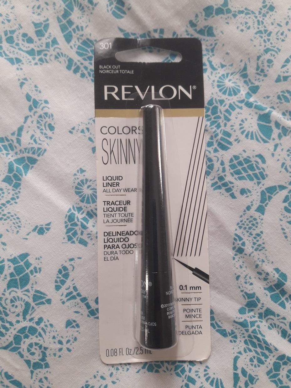 Revlon Colorstay Skinny Liquid Liner 301 Black Out Review