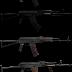 Pack de 12 armas AK-47 em HD