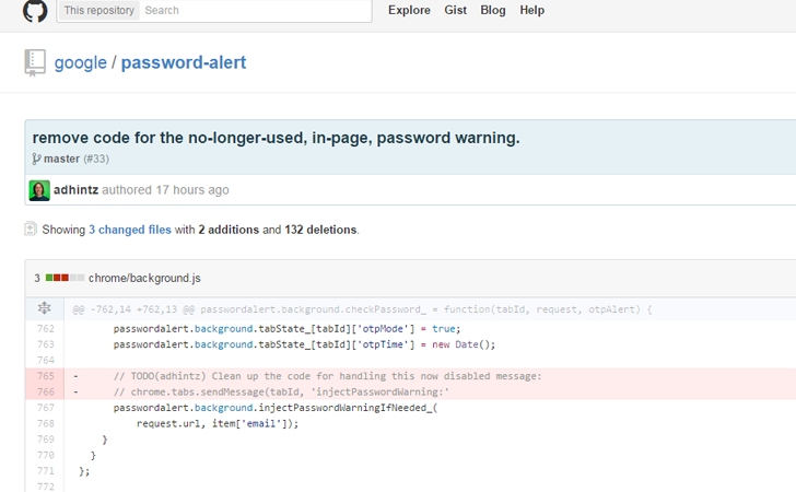 Upcoming Google Password Alert 1.7 Update Could Disable Phishing Warning Feature