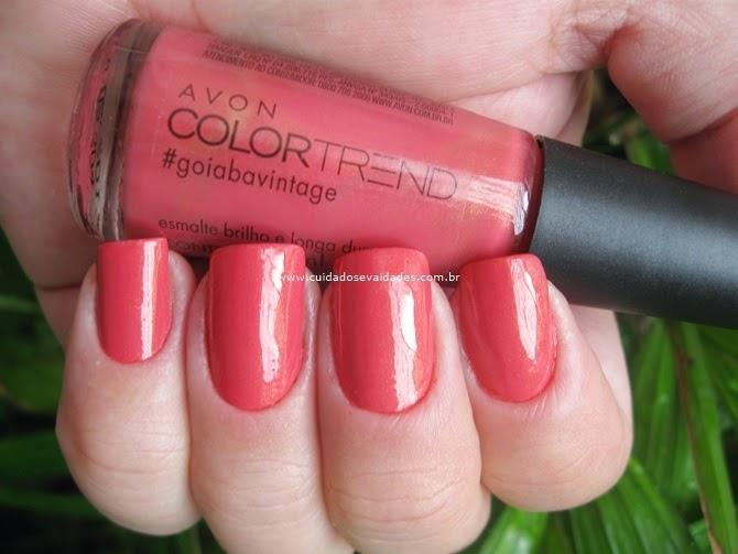 Esmalte Color Trend Avon Goiaba Vintage