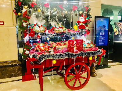 """Have A Sweet Christmas"" by Celebrity Baker Raymond Tan at Promenade Cafe, Promenade Kota Kinabalu"