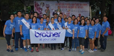 Brother Philippines Supports Philippine Cancer Society Relay For Life