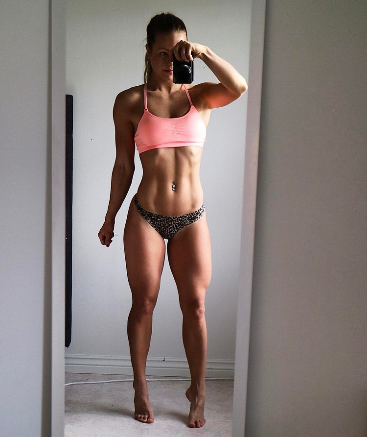 Swedish Fitness Model Denice Moberg 7