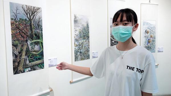 彰藝中國中部美術班畢業展 「山頂上」秀創意