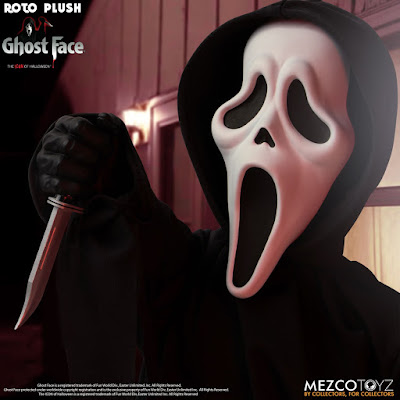 Mezco Toyz MDS Roto Plush Ghost Face