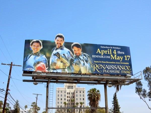 2015 Renaissance Pleasure Faire billboard