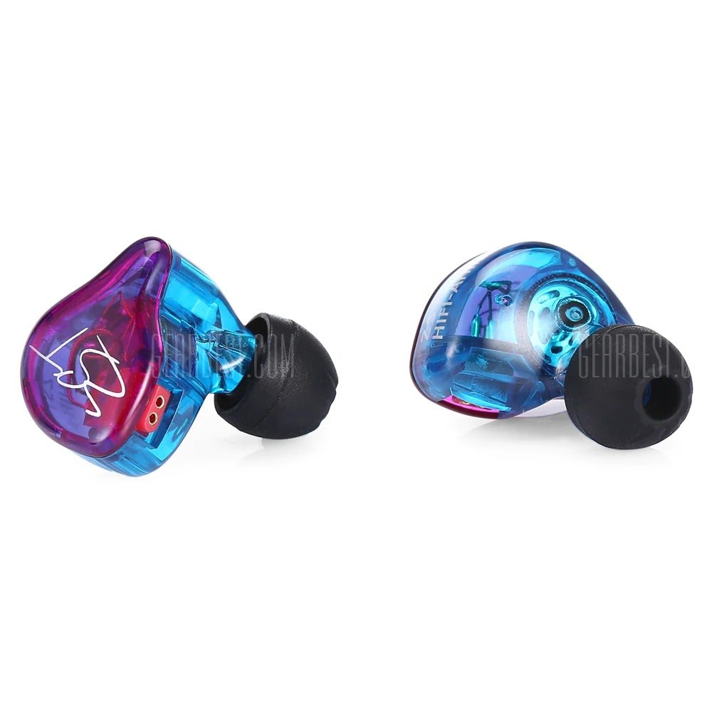 KZ ZST Wired On-cord Control In Ear Earphones - MULTI WITHOUT ON-CORD CONTROL Coupon