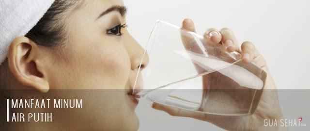 manfaat minum air putih