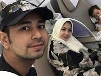 Balik ke Jakarta, Nagita Slavina 'Borgol' Tangan Raffi Ahmad