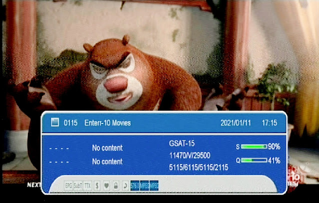 Enterr10 rebranded as Enterr10 Movies at Channel Number 51 on DD Free dish