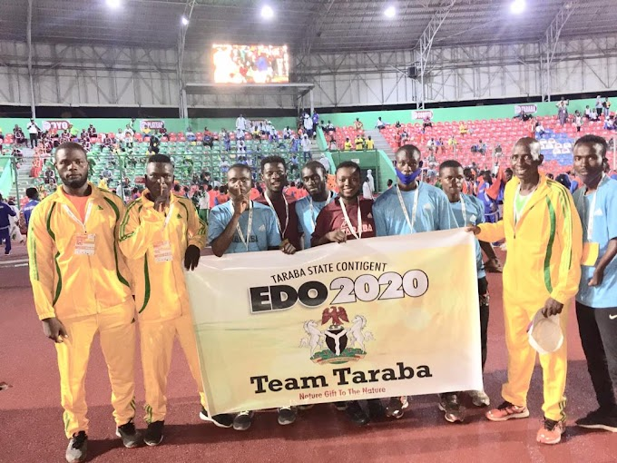 Team Taraba Wins First Medal At National Sport Festival