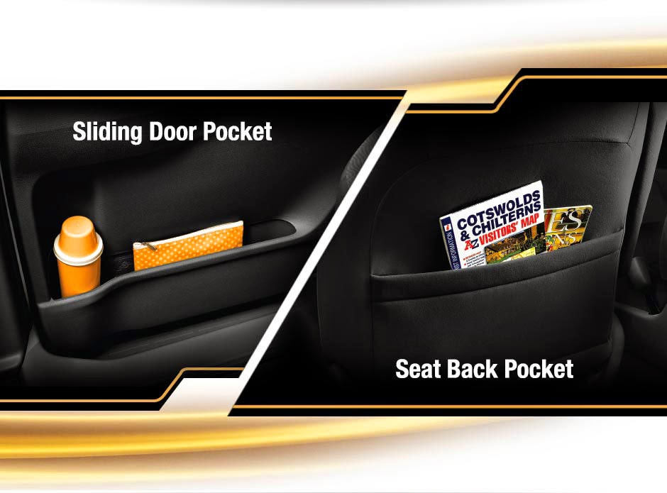 sliding door pocket