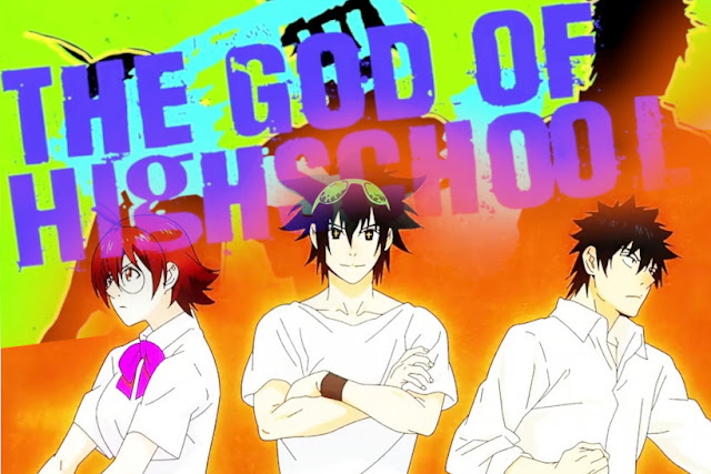 the god of high school anime wallpaper