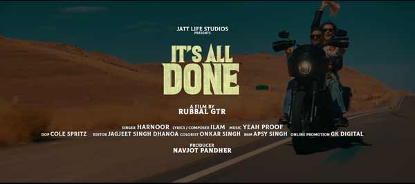 harnoor its all done full song
