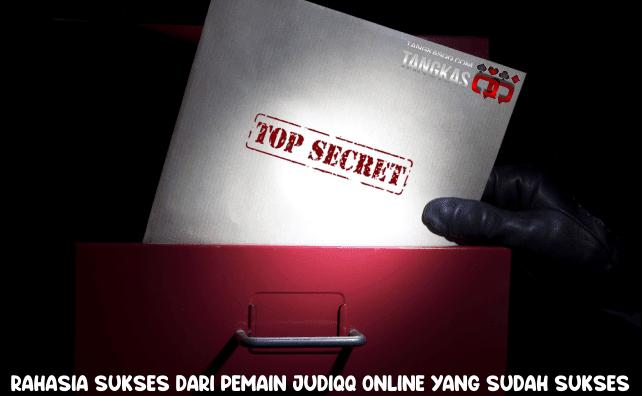 rahasia sukses bermain judiqq