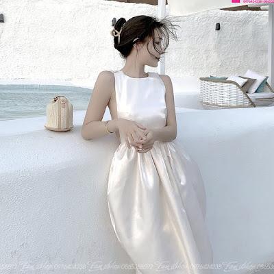 Váy maxi đi biển V498