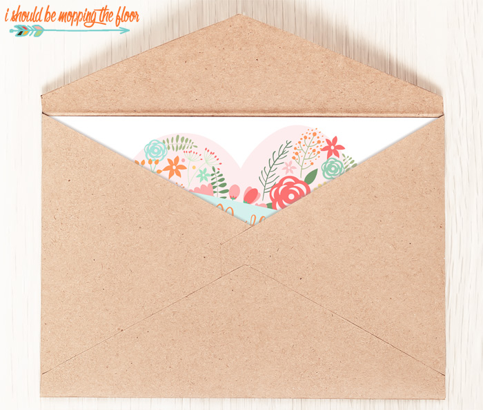 Cute Mother's Day Card in Envelope