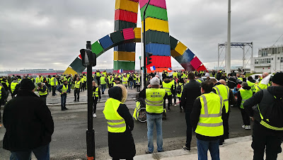 Concentraciones de protesta de los Chalecos amarillos