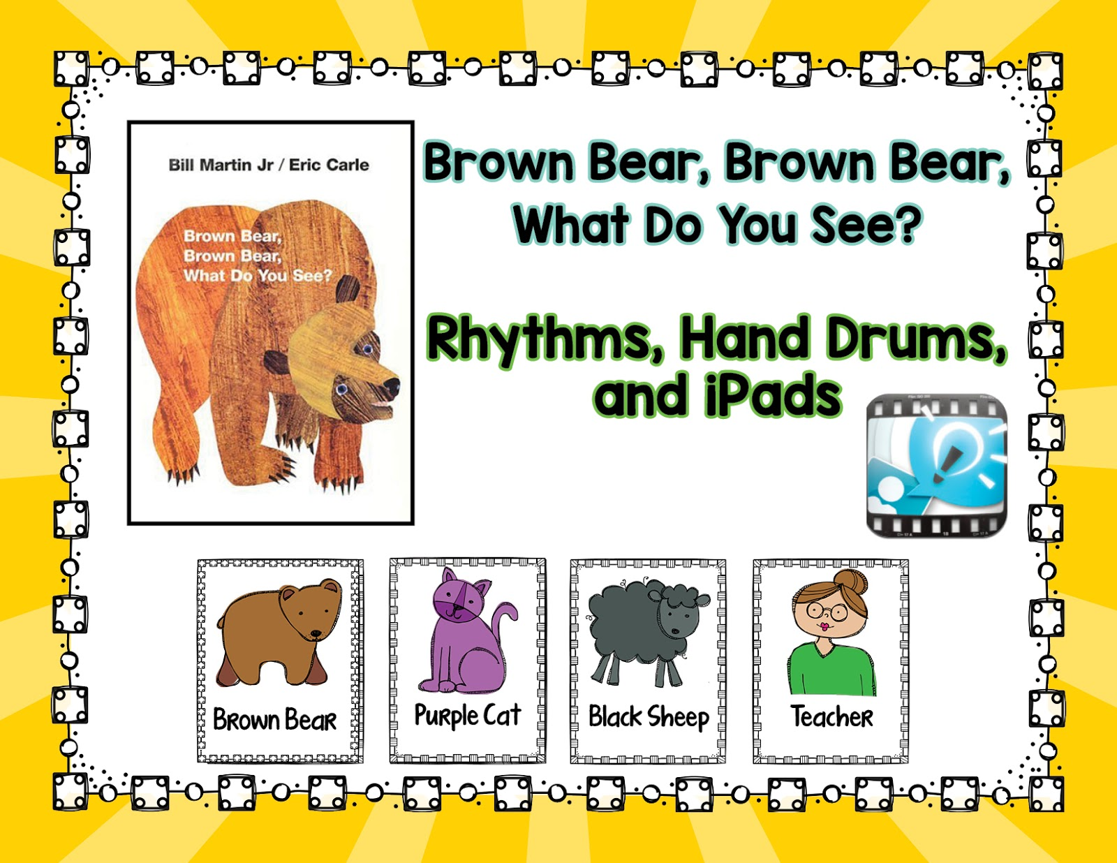 Music Is Elementary Brown Bear Brown Bear Rhythms And Drums And Ipads