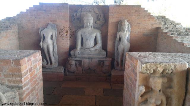 Chhattisgarh Buddha Vihar in Sirpur