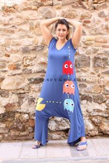 """Ολόσωμη φόρμα """"Pacman"""""""