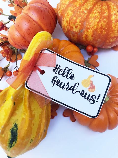 Pumpkin & Gourd Pun Tags