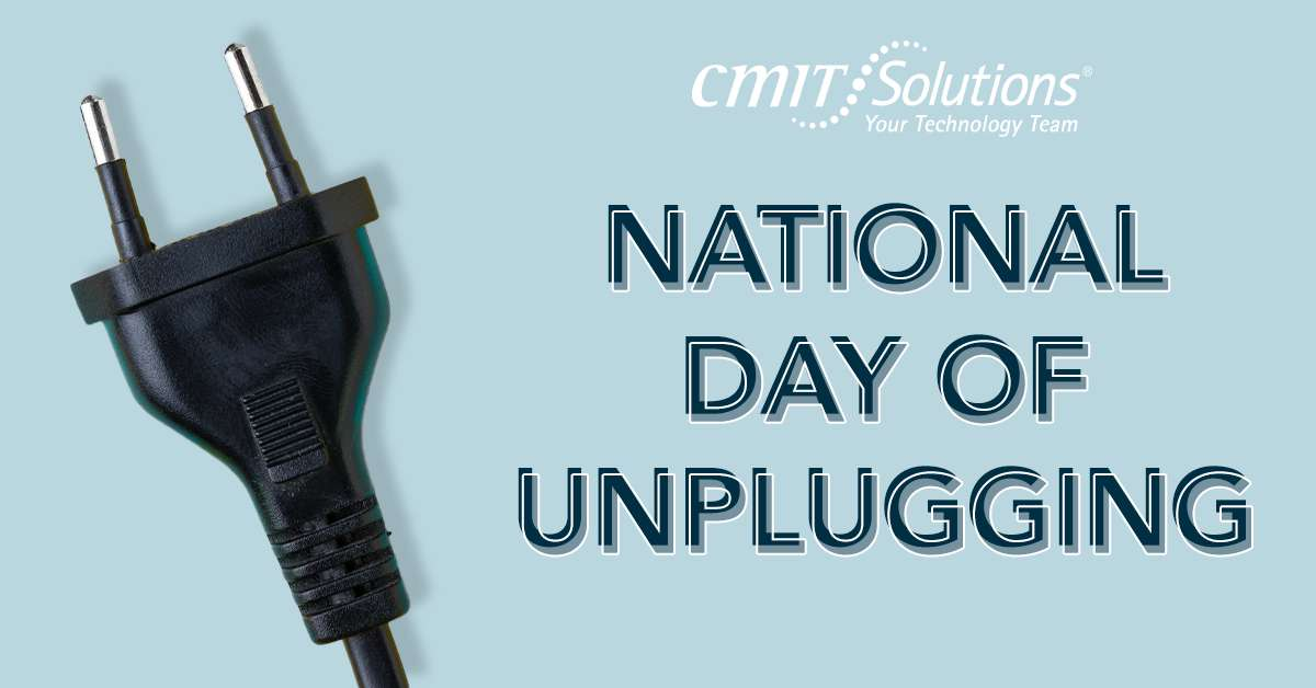 National Day of Unplugging Wishes for Whatsapp