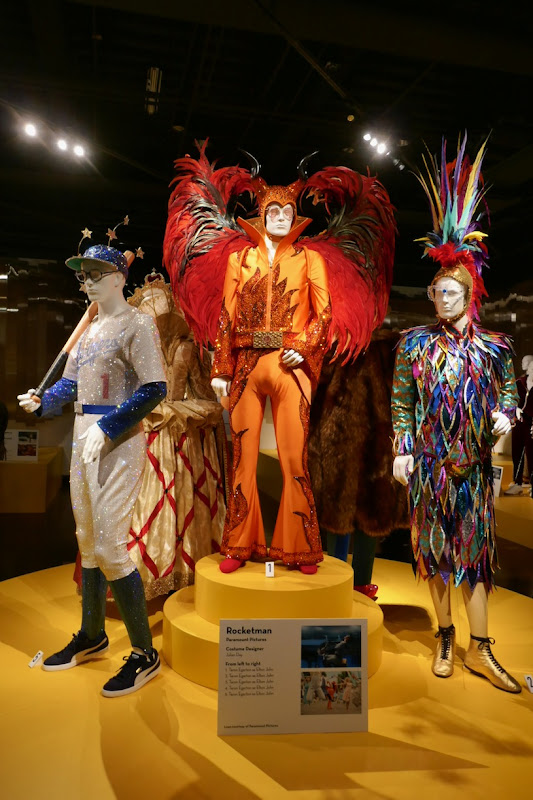 Rocketman movie costumes