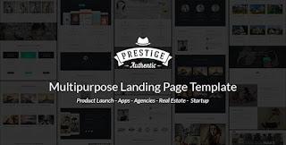 Prestige - Responsive Multi-Purpose Landing Page