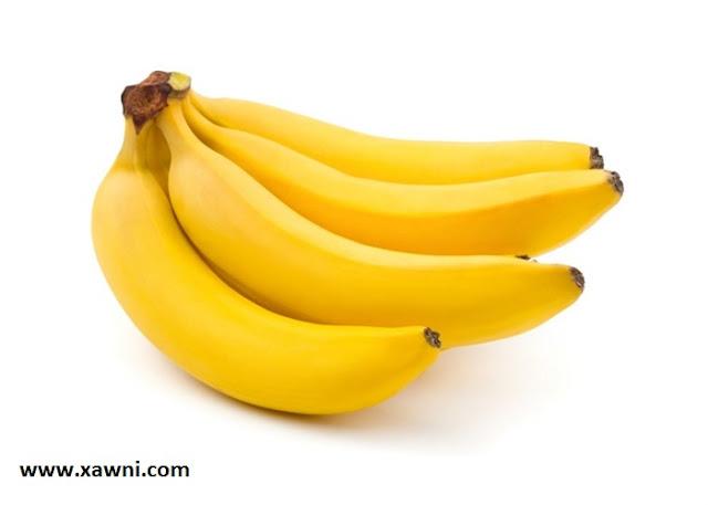 تعرفوا على فوائد اكل الموز
