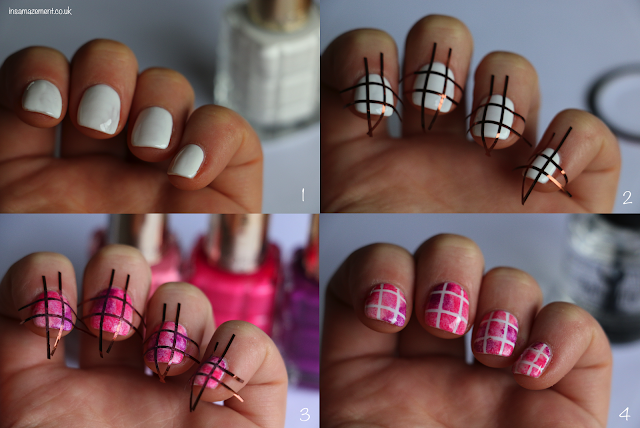 pink nail art tutorial