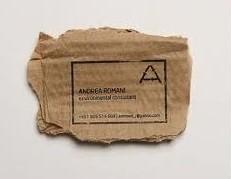 sobekan kertas ini dapat disulap menjadi kartu nama
