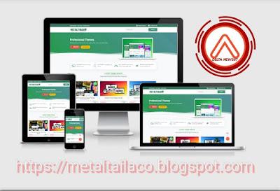 Tampilan Blog Metaltailaco 2019