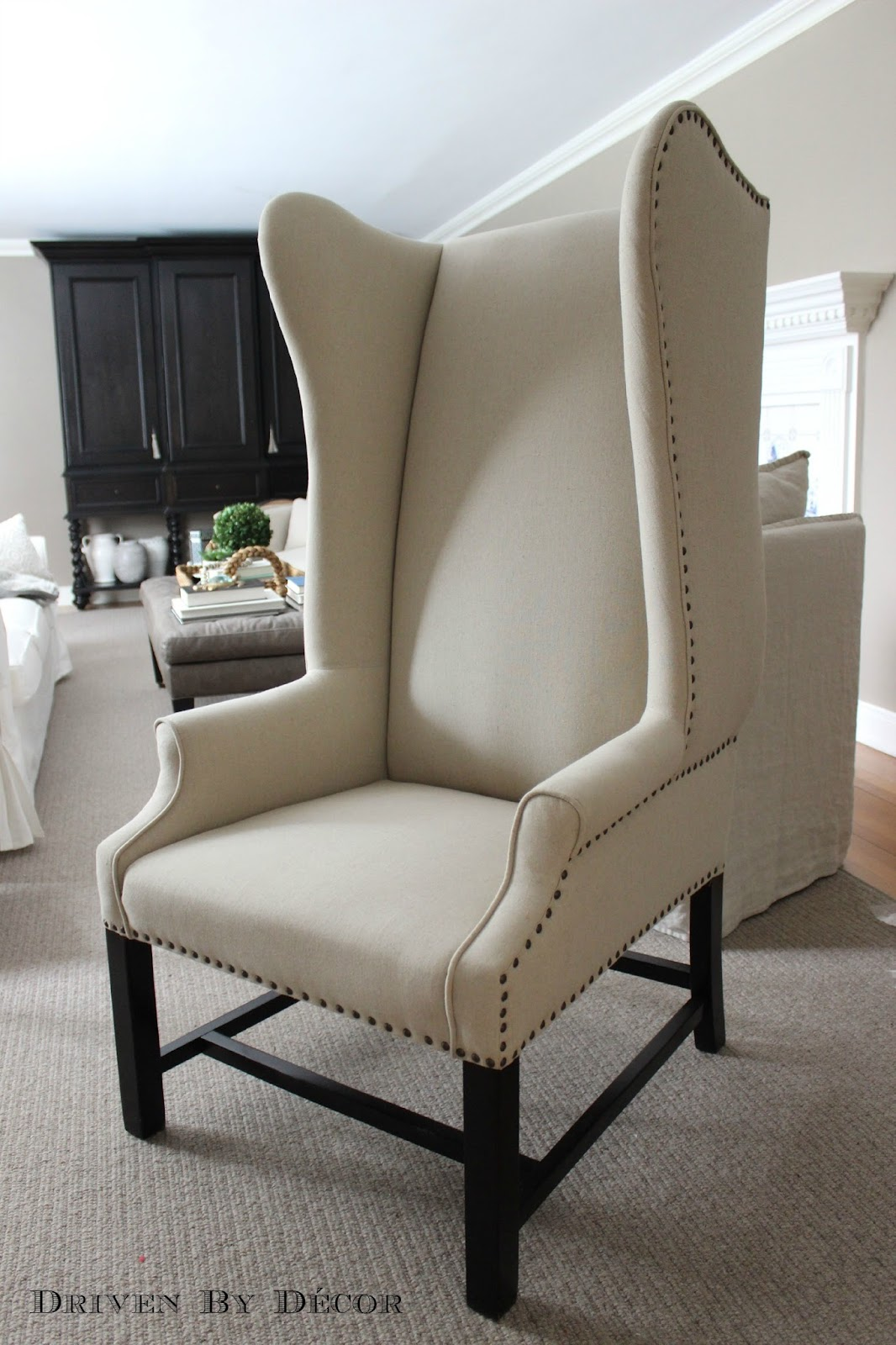 chair covers home goods dining table chairs only office remodel plans the deets driven by decor