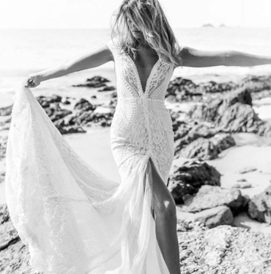 BOHEMIAN BRIDAL WEAR GOWN DRESS WEDDING QUEENSLAND