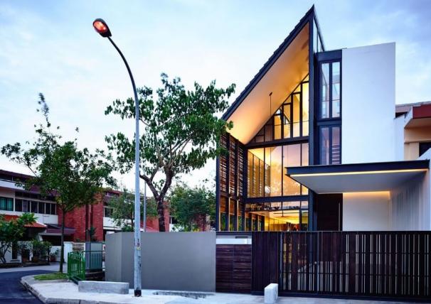 Arsitektur Rumah hook Minimalis