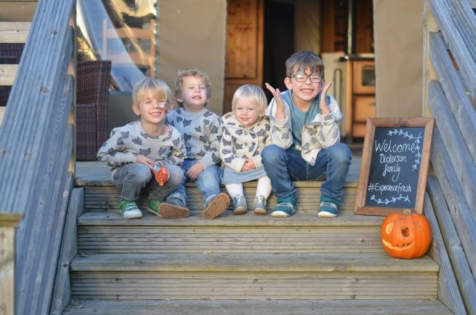 Experience Fresh, Port Lympne, Bear Lodge, Tootsa Macginty