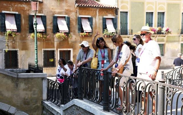 Tour a pé por Veneza