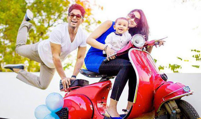 Allu Arjun Blessed With Baby Girl