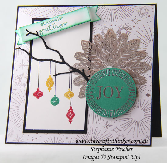 Seasonal Layers, Cheers to the Year, Xmas card, Christmas, Carols of Christmas, Stampin' Up Australia Demonstrator, Sydney NSW
