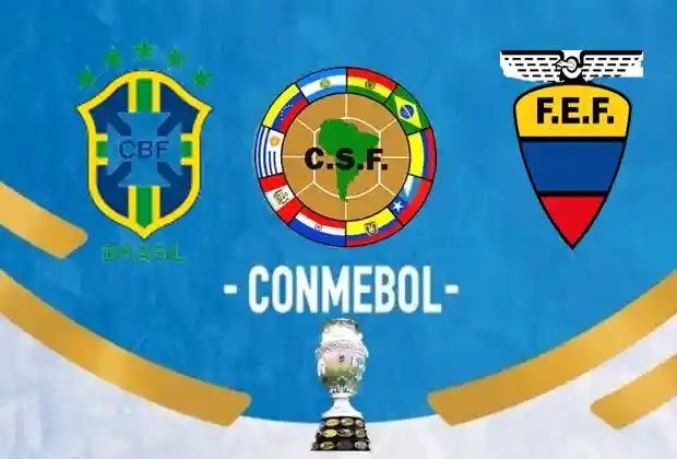 مباريات كوبا امريكا 2021,منتخب البرازيل,منتخب الاكوادور