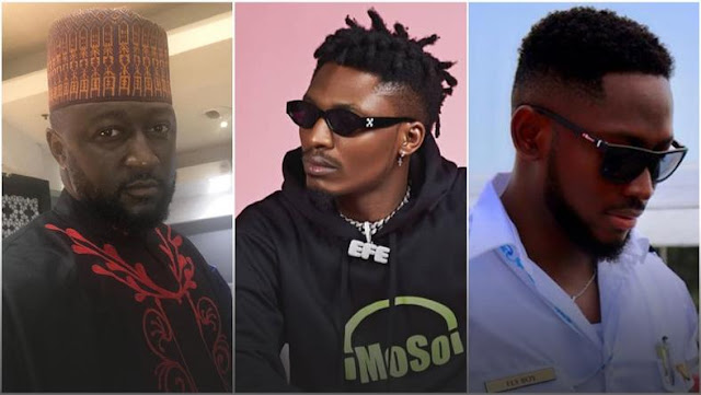 Katung, Efe and Miracle, BBNaija