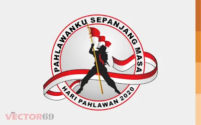 Hari Pahlawan 2020 Logo - Download Vector File AI (Adobe Illustrator)