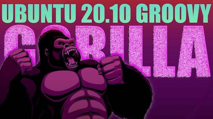 O Gorilla tá saindo da jaula! Ubuntu 20.10 beta disponível para download!