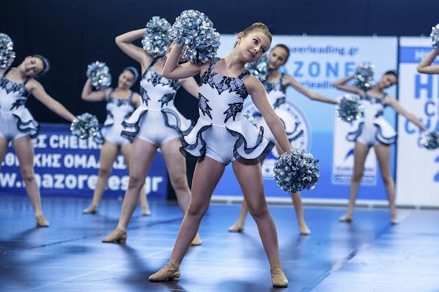 """Η """"Χοροκίνηση"""" εκπροσωπεί το Ναύπλιο στο 3ο Κύπελλο Ελλάδος Cheerleading"""