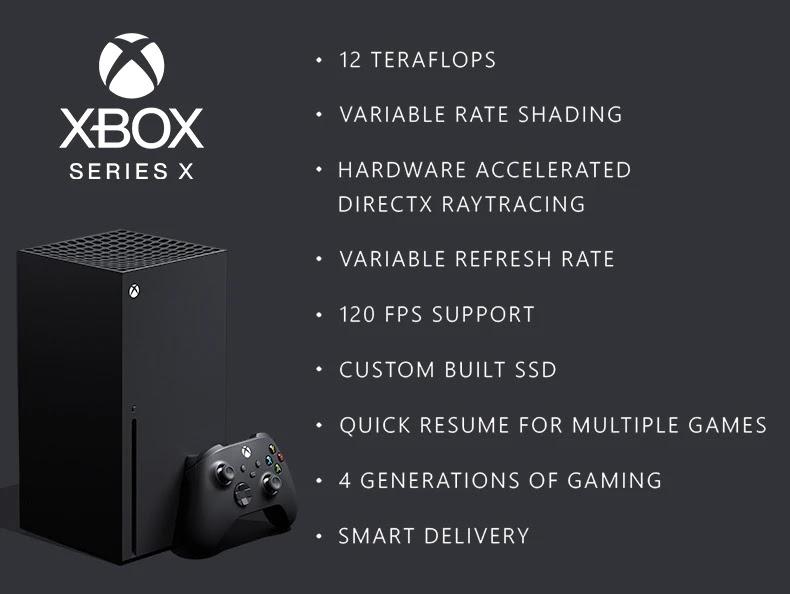 Microsoft Ungkap Spesifikasi dan Fitur Xbox Series X