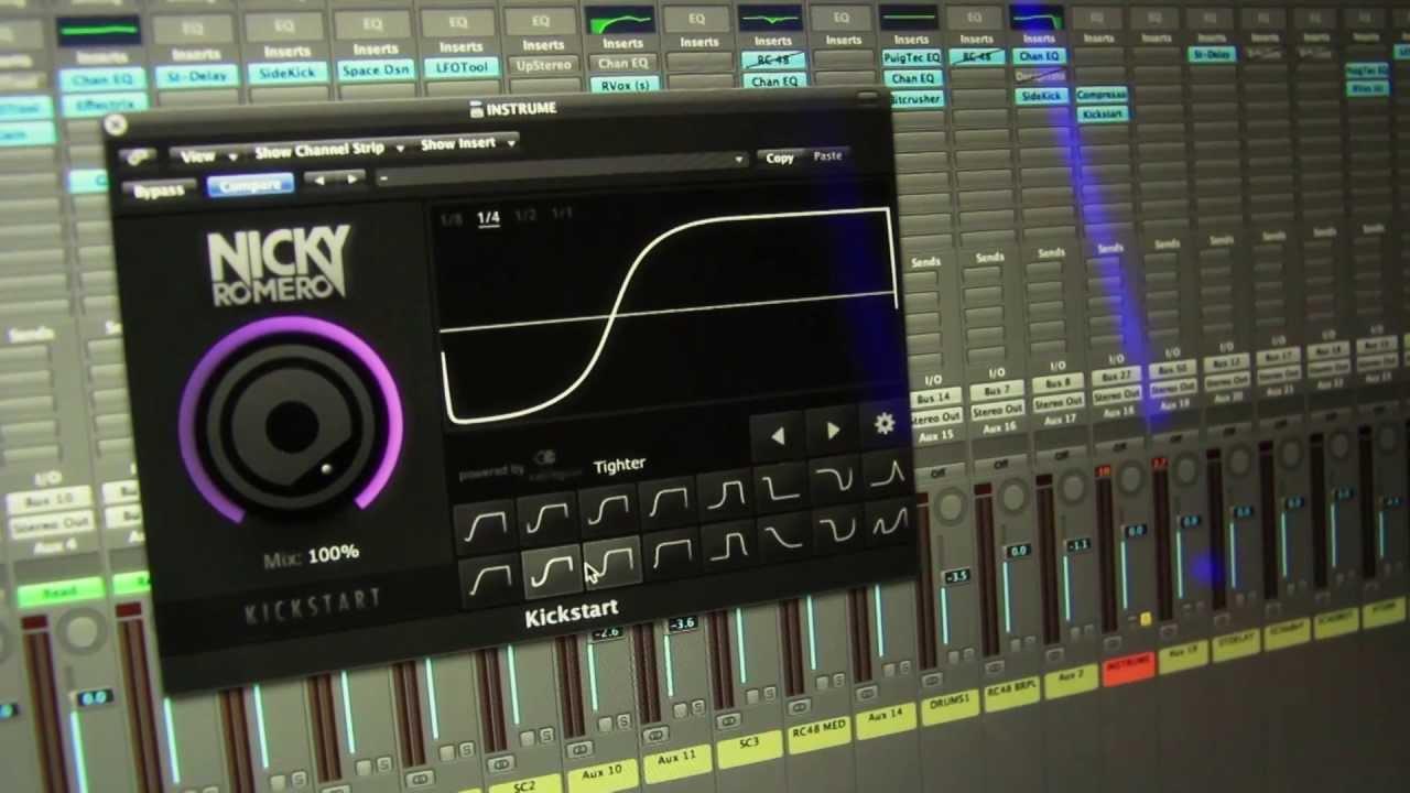 KickStart by Nicky Romero VST Plugin + Ativação Download