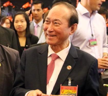Pung Kheav Se, nouveau président de  l'Association des Sino-Khmers du Cambodge